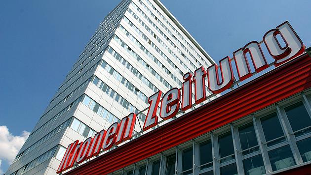 Bürogebäude der Krone Zeitung in Wien.