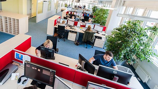 Büro der Krone Zeitung in Wien