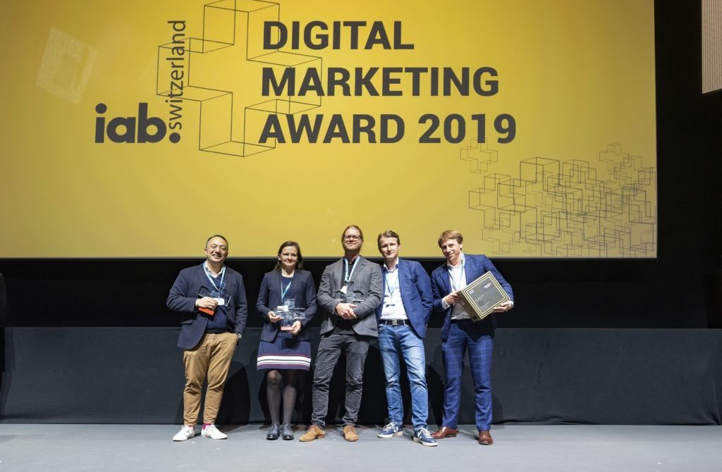 Nomination für den Digital Marketing Award 2020