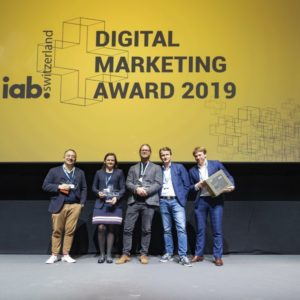 Nomination for the Digital Marketing Award 2020
